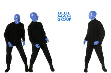 Blue Man Group, фото